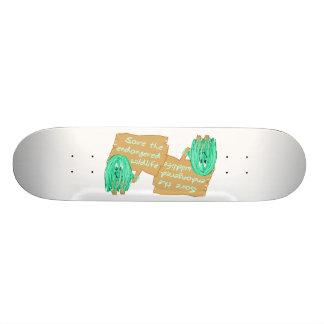 save the endanged wildlife skateboard