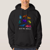 Save The Endangered Animals Hoodie