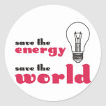Save the Energy, Save the World Sticker