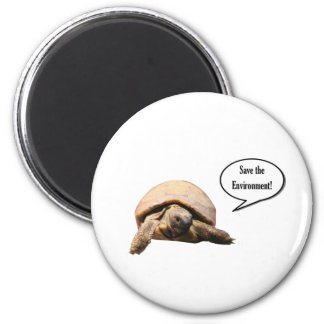 Save the Environment 2 Inch Round Magnet