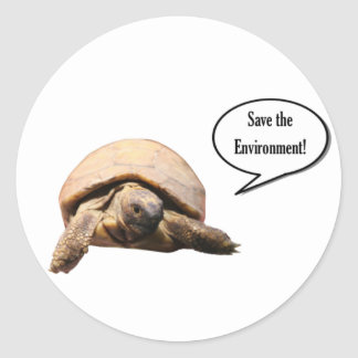Save the Environment Classic Round Sticker