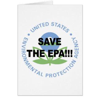 Save the EPA Card