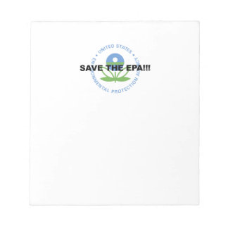Save the EPA Notepad