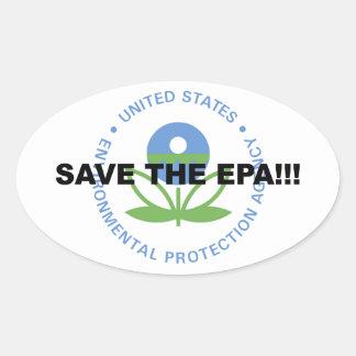 Save the EPA Oval Sticker