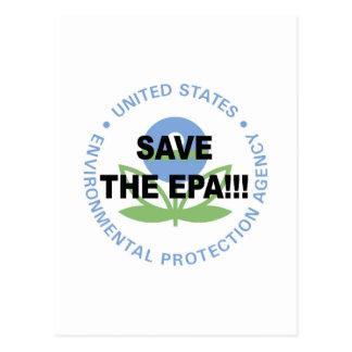 Save the EPA Postcard