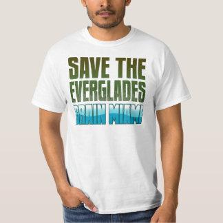 SAVE THE EVERGLADES - DRAIN MIAMI SHIRT