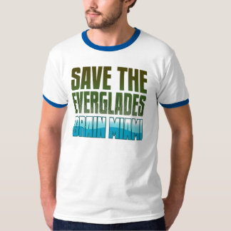 SAVE THE EVERGLADES - DRAIN MIAMI T-SHIRT