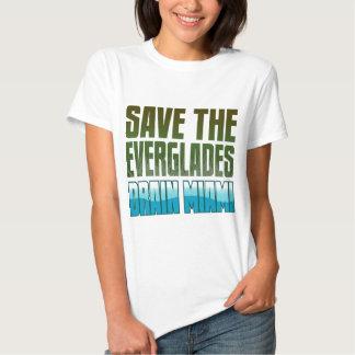 SAVE THE EVERGLADES - DRAIN MIAMI TEE SHIRT