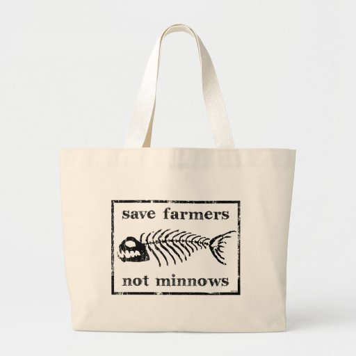 Save The Farmers Canvas Bags