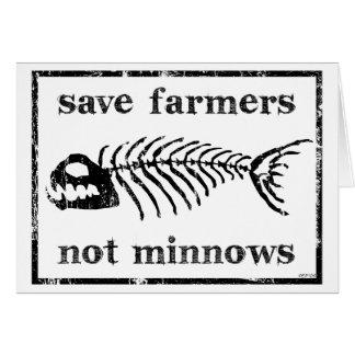 Save The Farmers Card