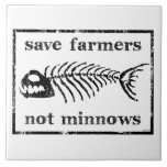Save The Farmers Ceramic Tile