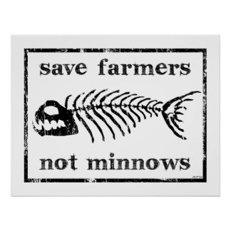 Save The Farmers Poster