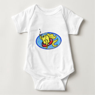 Save The Fish Baby Bodysuit