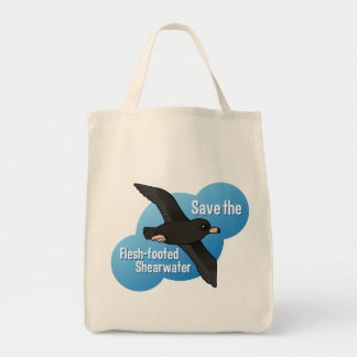 Save the Flesh-footed Shearwater Grocery Tote Bag