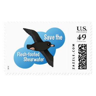 Save the Flesh-footed Shearwater Postage Stamps