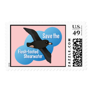 Save the Flesh-footed Shearwater Stamps