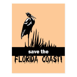 Save the Florida Coast Postcard
