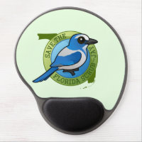 Save the Florida Scrub-Jay Gel Mousepad