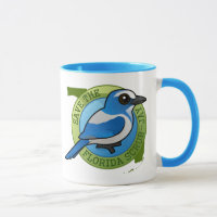 Save the Florida Scrub-Jay Combo Mug