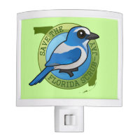 Save the Florida Scrub-Jay Night Light