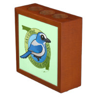 Save the Florida Scrub-Jay Desk Organizer