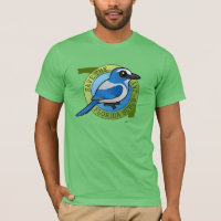Save the Florida Scrub-Jay Men's Basic American Apparel T-Shirt