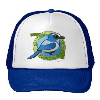 Save the Florida Scrub-Jay Trucker Hat