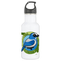 Save the Florida Scrub-Jay Water Bottle (24 oz)