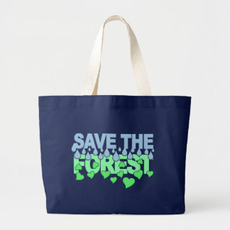 Save The Forest bag - choose style & color