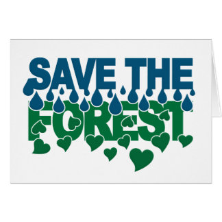 Save The Forest card - customize