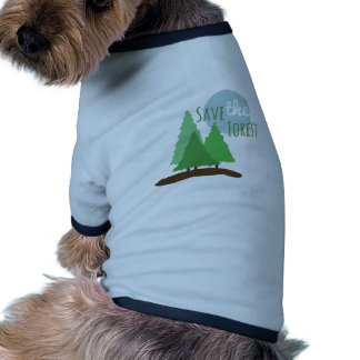 Save The Forest Pet Clothes