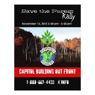 Save The Forest Flyer
