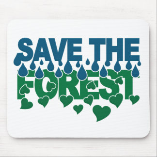 Save The Forest mousepad