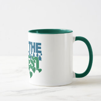 Save The Forest mug - choose style & color