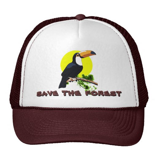 Save the Forest - Toucan Trucker Hat