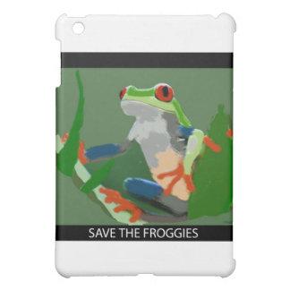 Save the Froggies iPad Mini Covers