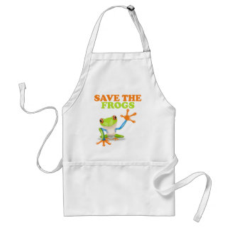 Save the Frogs Adult Apron