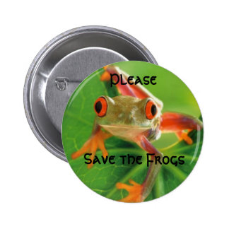 Save the Frogs, Please Button