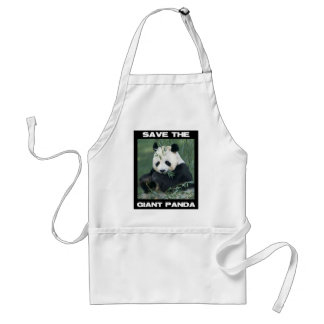 Save the Giant Panda Adult Apron