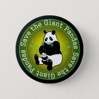 Save the Giant Pandas Pinback Button