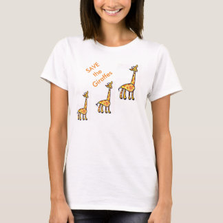 Save the Giraffes T-Shirt