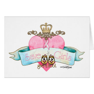 Save the Girls - Give a Hoot Card