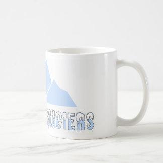 save the glaciers coffee mug