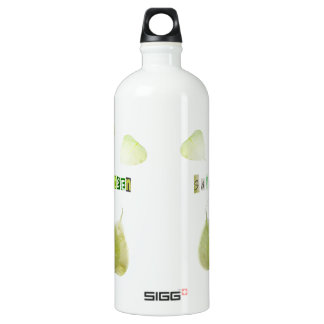 Save the Green, ecology concept Aluminum Water Bottle