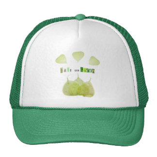 Save the Green ecology concept Hats