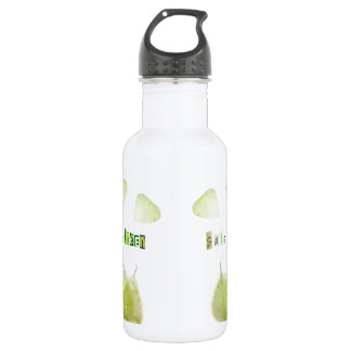 Save the Green, ecology concept Water Bottle