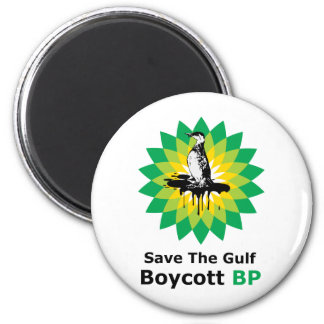 Save The Gulf Boycott BP Refrigerator Magnets