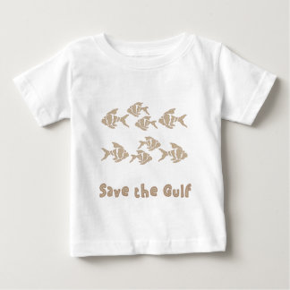 Save The Gulf - Brown School of Fish Shirts