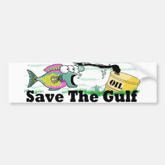 Save the Gulf Bumper Sticker