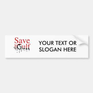 SAVE THE GULF BUMPER STICKERS